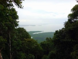 Hiking Up Gunung Bintan