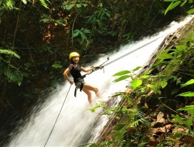 Gopeng Waterfall Abseiling