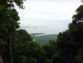 Hiking Up Gunung Bintan
