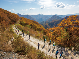 Hiking in Picturesque South Korea