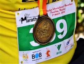 2019 Bhutan International Marathon