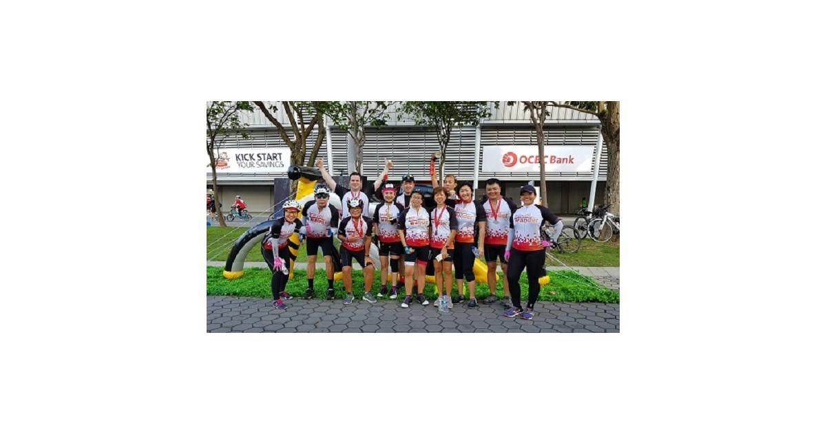 2nd time round – OCBC Cycle 2018